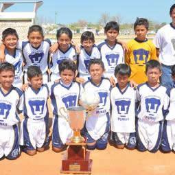 Por lo tanto Autorización Electrizar  Pumas Santa Ana se proclama campeón en torneo regional -  ComunicaCampeche.com